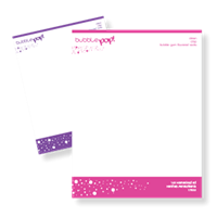 "Letterhead 8.5"" x 11""-1 Color"