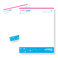 "Letterhead 8.5"" x 11""-2 Color"